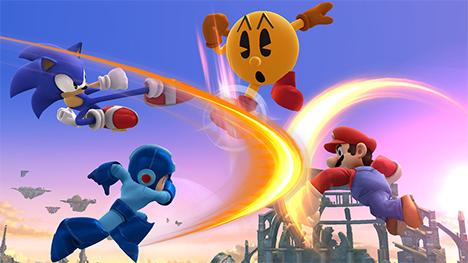 Mario Vs Sonic Vs Megaman Vs Pacman mario vs sonic vs megaman vs