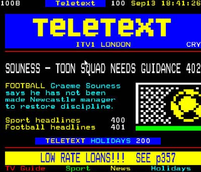 Permalink to Teletext Holidays