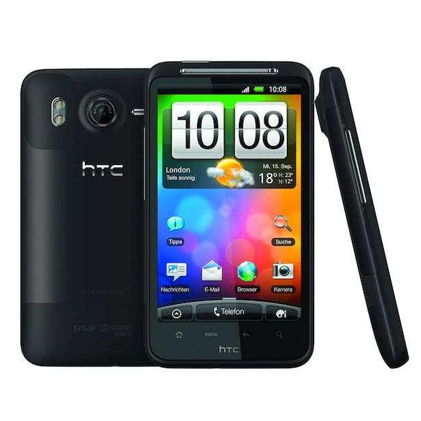 HTC Desire HD thumb.JPG HTC's latest wonder-smartphone, the Desire HD, ...