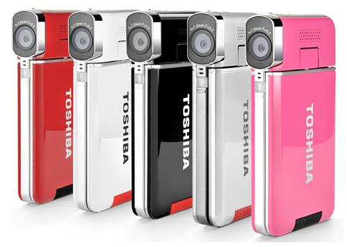 P: Toshiba Camileo S20 - FullHD Video Kamera - nová