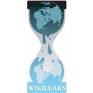 """Wikileaks_logo.svg"" Wikileaks logo. From the English Wikipedia."