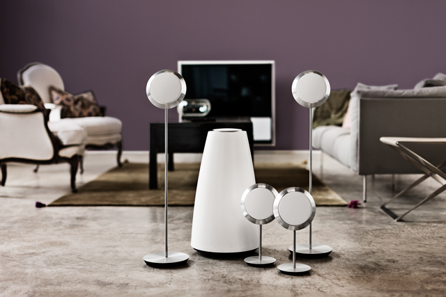 bang olufsen launch beolab 14 5 1 surround sound system. Black Bedroom Furniture Sets. Home Design Ideas