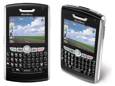 Registro de Teléfono Móvil Blackberry-8820