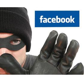 Burglars use Facebook to Rob Your Home