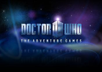 Doctor Who - The Adventure Game logo
