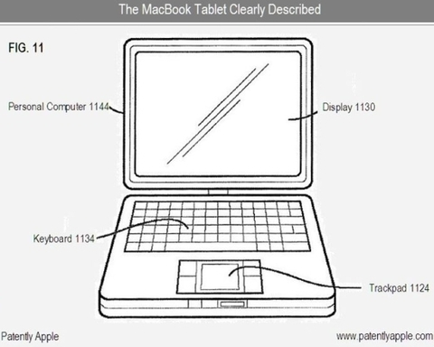 iMac Touch patent