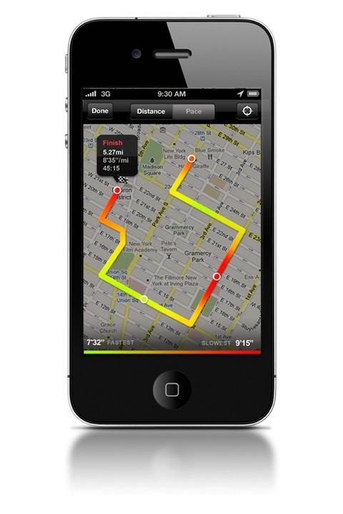 Nike+ GPS App