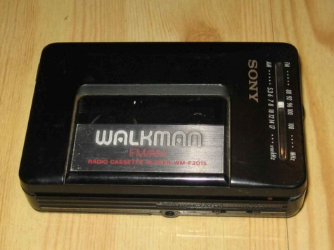 Sony Cassette Walkman WM-F2015