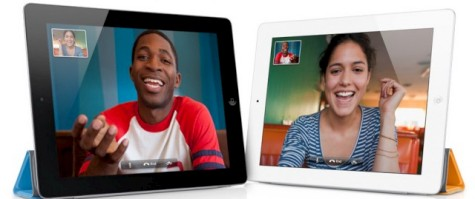 FaceTime, the proprietary video chat app from Apple, now works on the iPad 2 thanks to its built in cameras.
