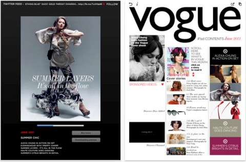 Vogue Magazine for iPad