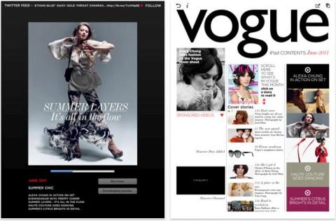 Vogue Magazine for iPad