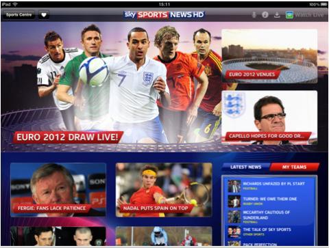 Sky Sports News for iPad