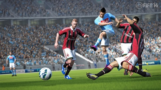 FIFA 14 screenshots