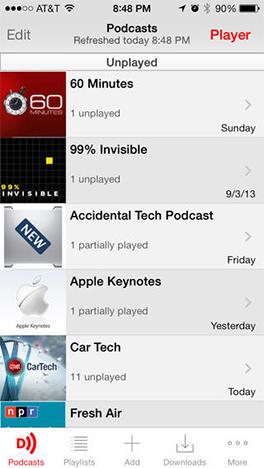 Downcast - iOS and Mac OS