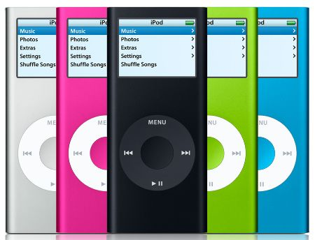 a brief history of the ipod 5 years old today tech digest. Black Bedroom Furniture Sets. Home Design Ideas