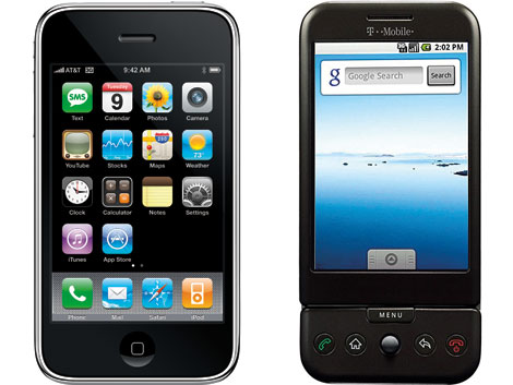 Apples iPhone v Googles G1