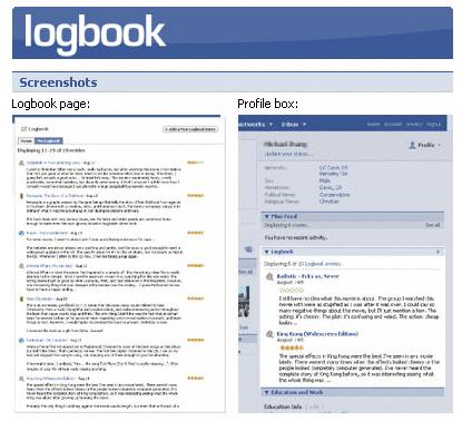 A developer has just sold on eBay his Logbook application (pictured),