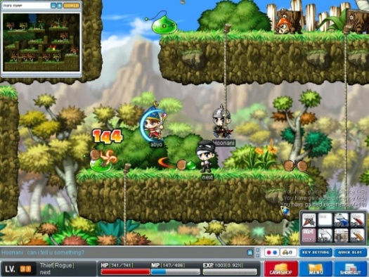maple story html