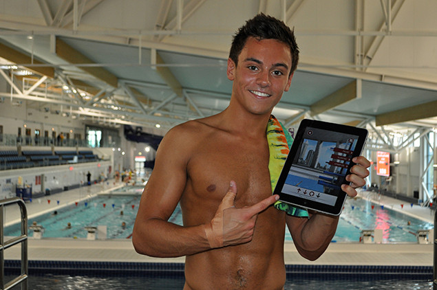 App olympians are using to hook up