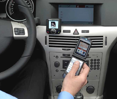 handsfree car kit: