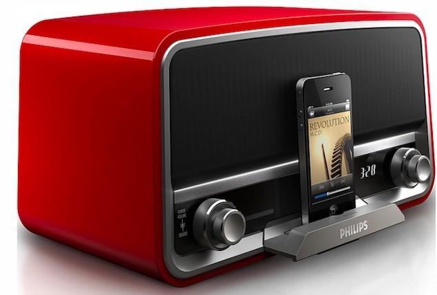 ifa 2012 philips reveal retro inspired original radio ipod docks tech digest. Black Bedroom Furniture Sets. Home Design Ideas