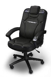 CES 2008: Pyramat unleashes PC Gaming Chair 2.1 : Tech Digest
