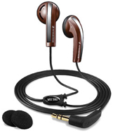 Full metal jacket metal earbuds - sennheiser earbuds hd