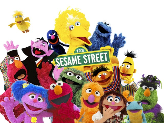 sesamestreet ... goodness instead wound up with an eyeful for about 20 minutes yesterday, ...