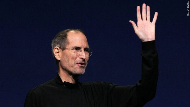 The face of Steve Jobs was a welcome sight at last night's iPad 2 launch.