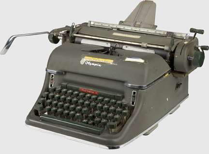 12 Million Typewriters Sold In 1950. 400,000 In 2009