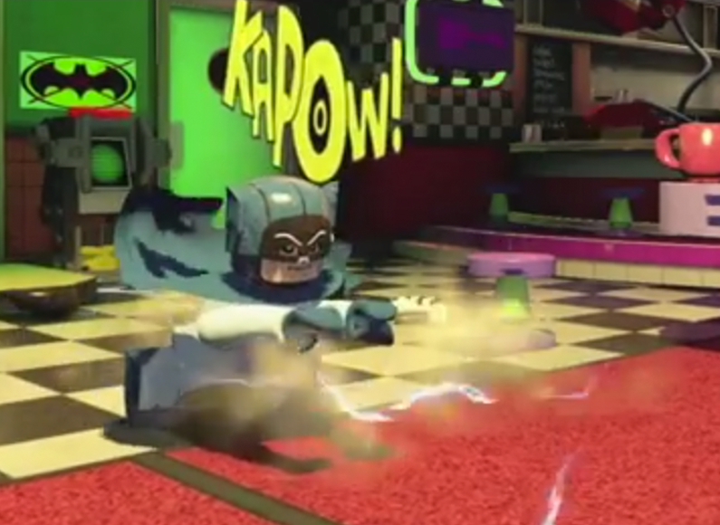 ADAM WEST brings 60s Batman to Lego Batman 3