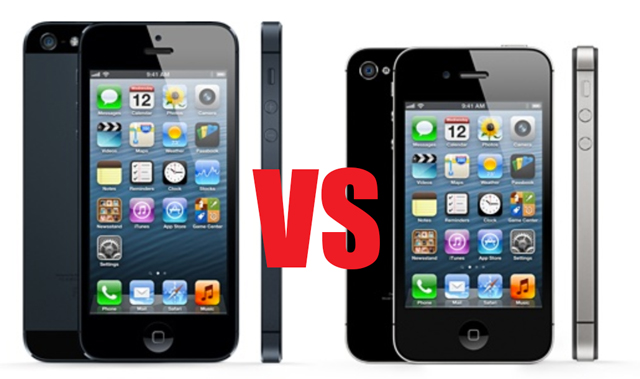 iPhone 5 vs iPhone 4S: Specs, features, design, price and ...