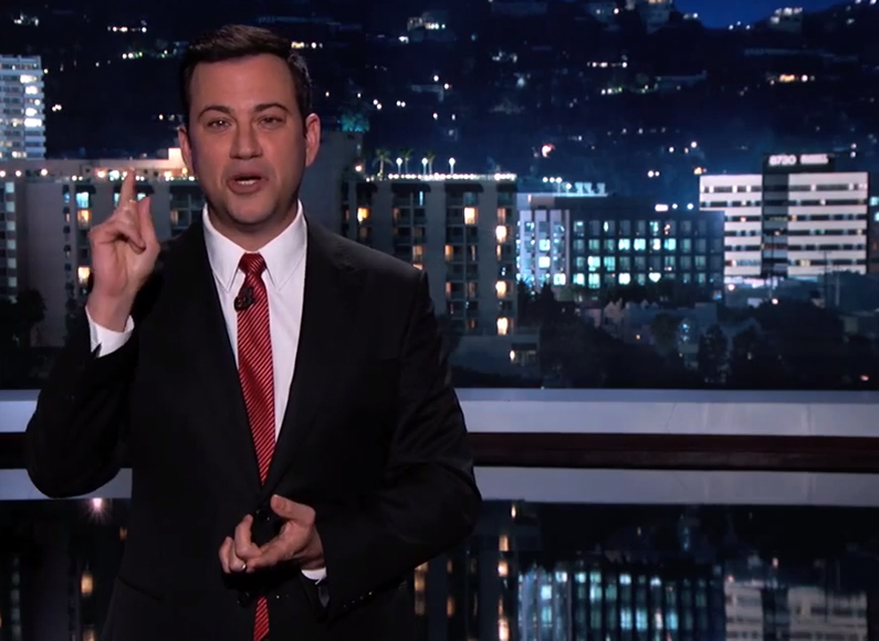 WATCH: Jimmy Kimmel's iWatch prank