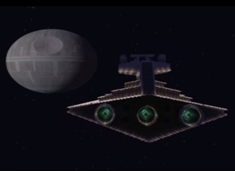 WATCH: Star Wars recreated in Minecraft