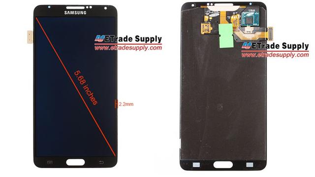 Samsung Galaxy Note 3 5.68-inch body leaks. Screen size on ...