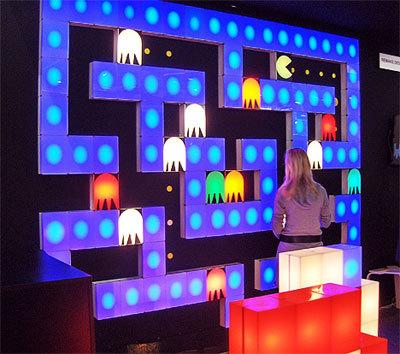 Pac Man Wall Mural Paris Gets Playful Tech Digest