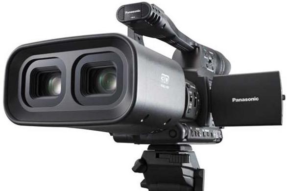CES 2010 - Panasonic's 3D camera video - Tech Digest