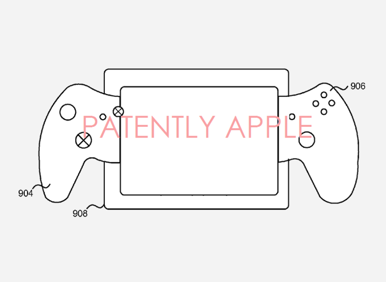 Microsoft working on a split controller for tablet gaming?