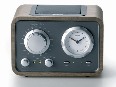 sennheiser goes all old skool with the fm only tangent duo. Black Bedroom Furniture Sets. Home Design Ideas