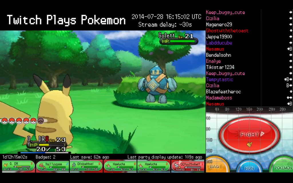 TwitchPlaysPokemon is still going – and is on to Pokemon X for 3DS
