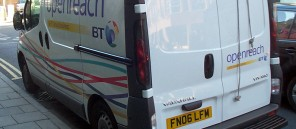 BT-Openreach-van