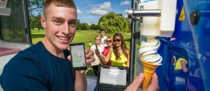 Ice cream van company introduce an app that allows you to track their fleet