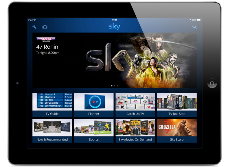 Sky now lets you beam your photos to the TV