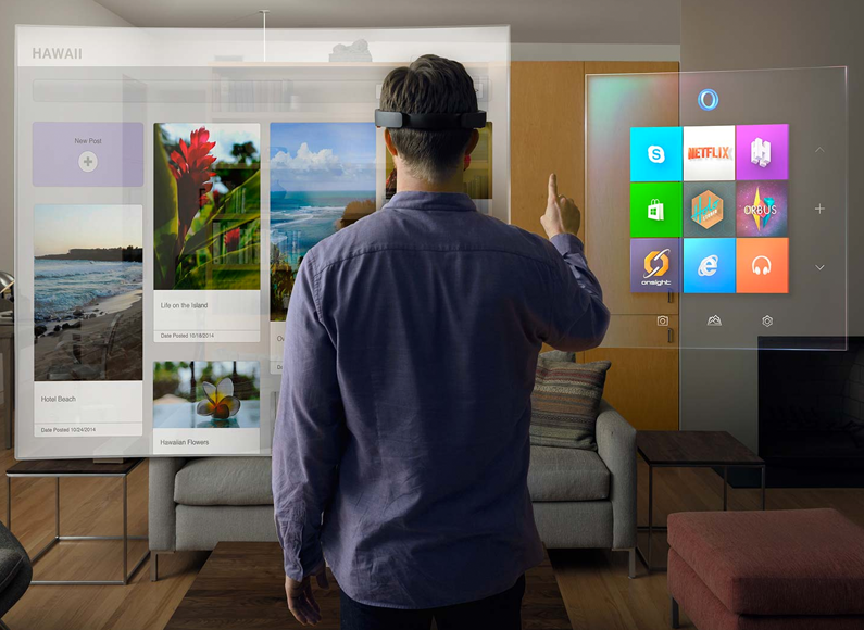 us hololens mainstreams augmented reality news .