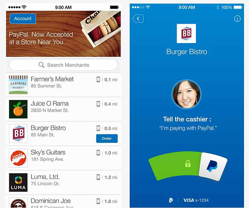 how to use paypal to buy apps on iphone