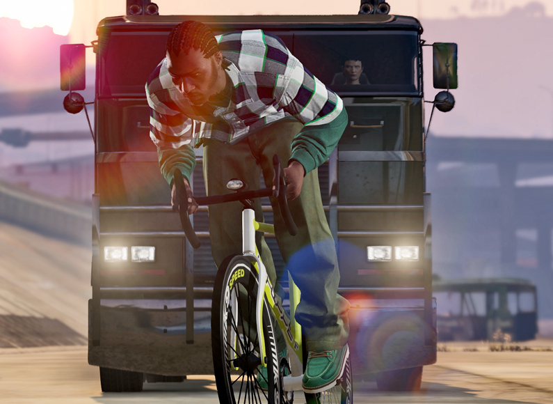 New Grand Theft Auto 5 game mode to recreate cycle commuting in London