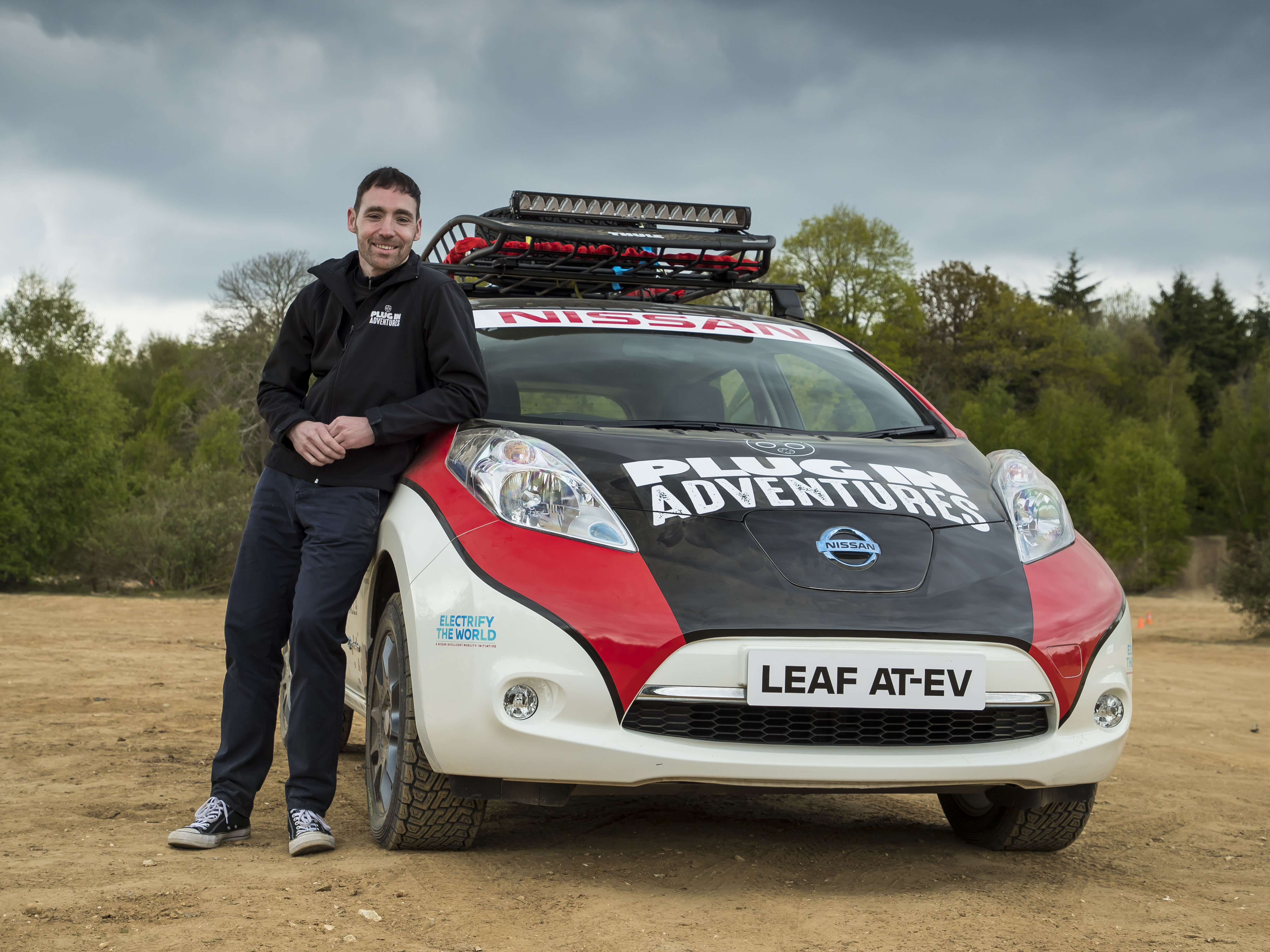 h driven prototype electric leaf impressions first car nissan