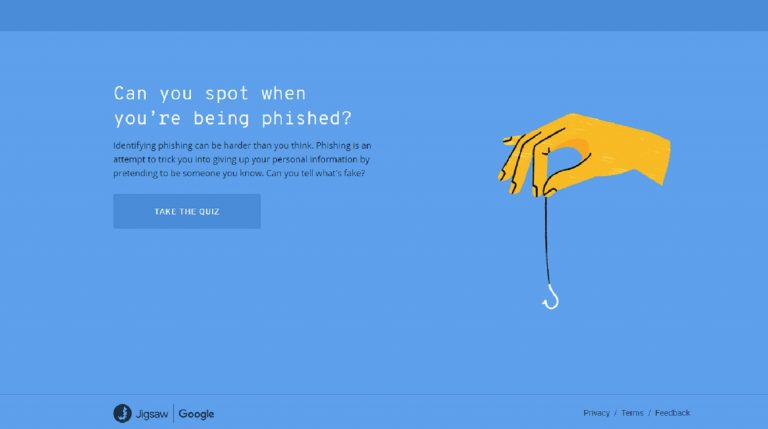 Google design quiz to help people spot phishing emails