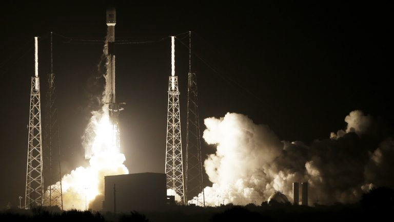 Israel flying to moon aboard Elon Musk's SpaceX Falcon 9 rocket