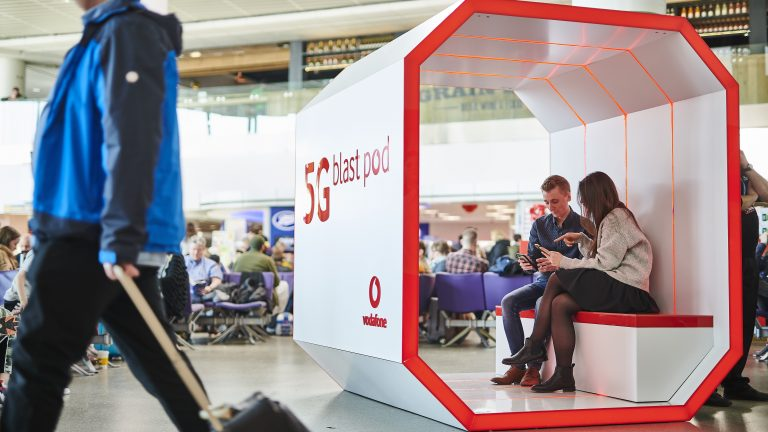 Vodafone begins 5G trial at Manchester Airport